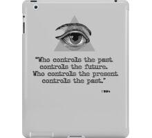 1 9 8 4 iPad Case/Skin