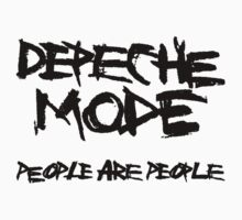 Depeche Mode : People are People - 1 - Black Kids Clothes