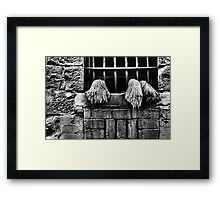 The Space That Exists Between Us. Framed Print