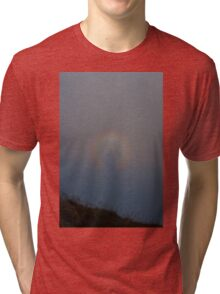 Halo in the mist Tri-blend T-Shirt