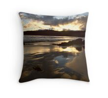 Surveyor's Bay Tasmania Throw Pillow