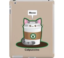 Cute Cat Coffee iPad Case/Skin