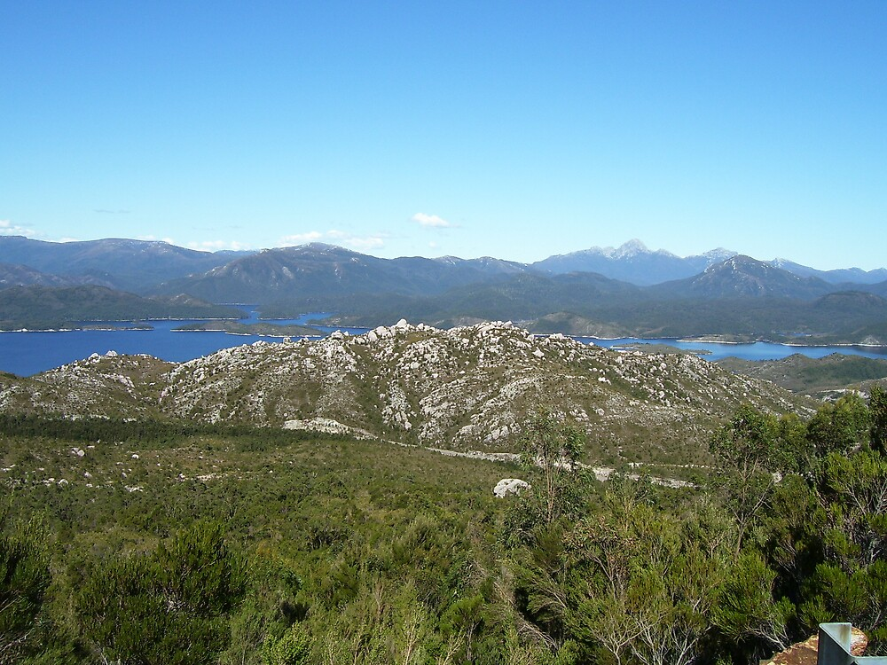 Lake Plimsoll, Tasmania           (I think it's Plimsoll, or Burbury) -    so many lakes!! by gaylene