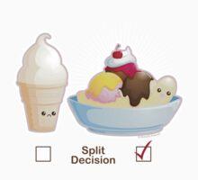 Split Decision Kids Tee