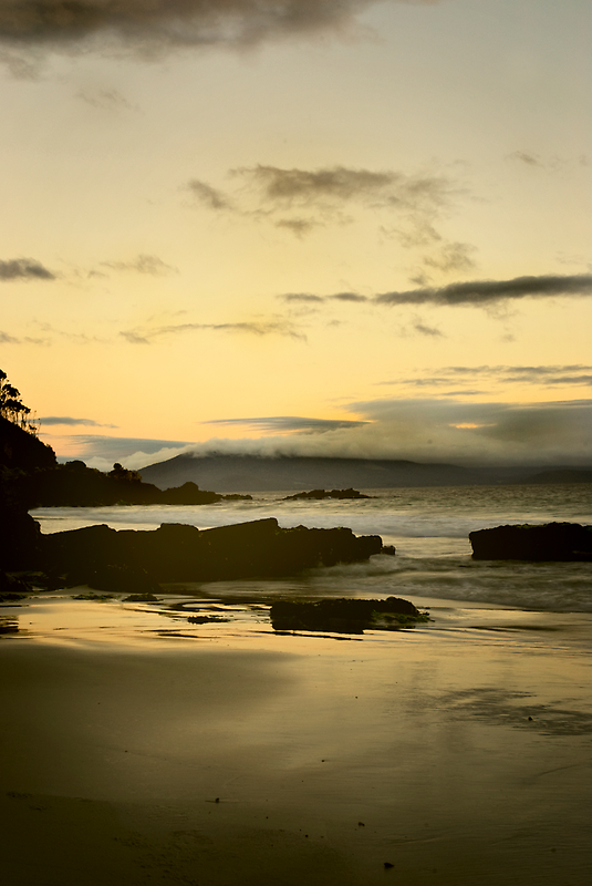 Golden Beach Tasmania by Melinda Kerr