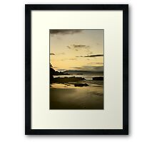 Golden Beach Tasmania Framed Print