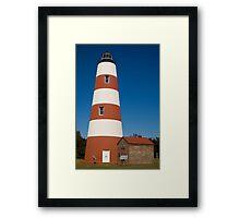 The Sapelo Island Lighthouse Framed Print