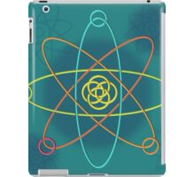 Line Atomic Structure iPad Case/Skin