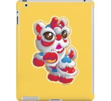 Cute Lion Dancer iPad Case/Skin