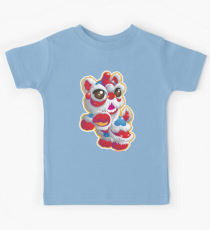 Cute Lion Dancer Kids Clothes