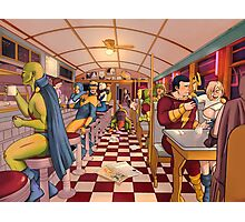 The Nite Owl Diner Photographic Print