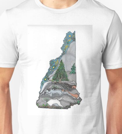 Live free and climb mountains Unisex T-Shirt