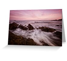 Serenity Beach at Dusk 5 Greeting Card