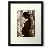 Precious child Framed Print