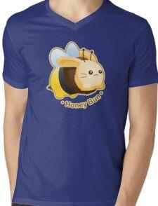 Cute Honey Bun Bunny Mens V-Neck T-Shirt