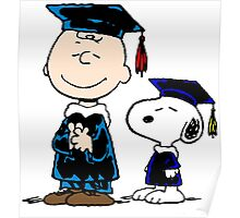 Snoopy graduate Poster