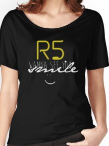 R5 wanna see you smile (white) Women's Relaxed Fit T-Shirt