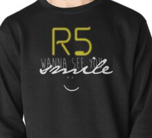 R5 wanna see you smile (white) Pullover