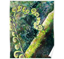 Forest Fern Poster