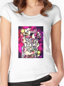 FNAF - It's Mangle! Women's Fitted Scoop T-Shirt