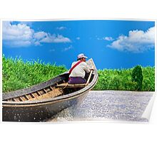 Inle Taxi. Poster