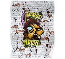 Dear Llama, Poster