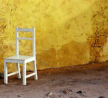 Chair - Ile de Gorre, Senegal by 945ontwerp