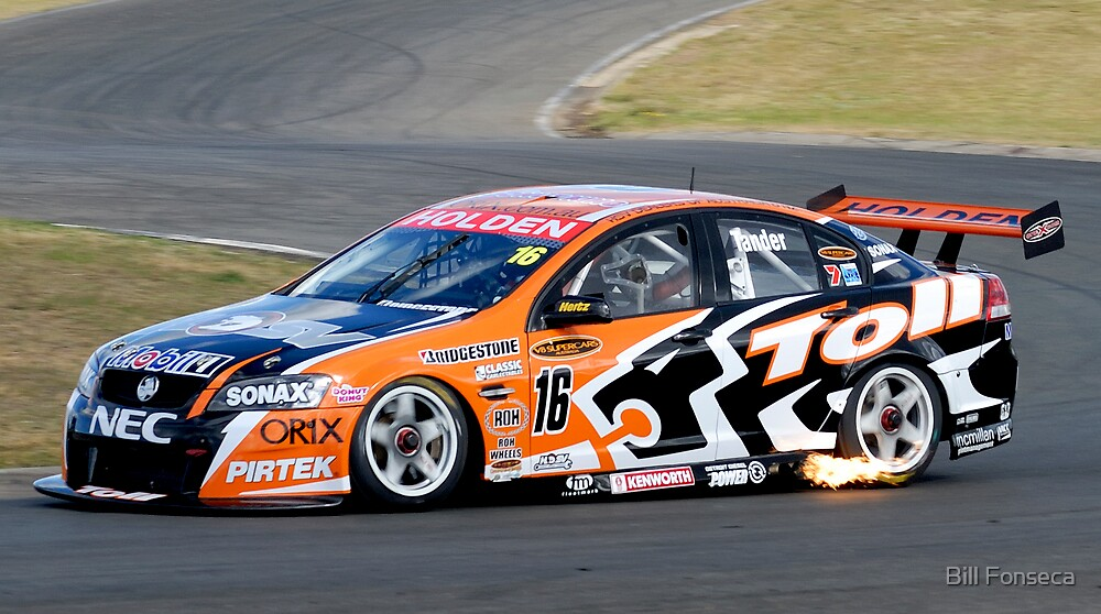 Garth Tander at Oran Park by Bill Fonseca