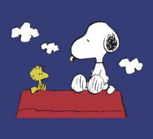 Snoopy and Woodstock by gaberje