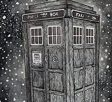 Tardis by painted-lizard
