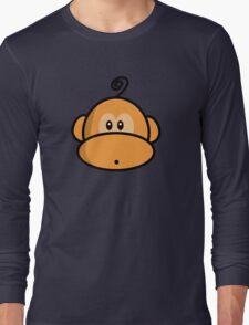 Young rebel monkey II Long Sleeve T-Shirt
