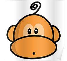Young rebel monkey II Poster