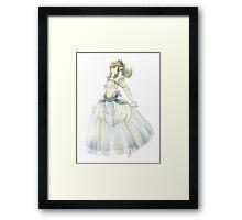 Bride Tiki Framed Print