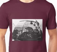 "Unique and rare 1980 Race Trucks France 8 (n&b) (t) "" fawn paint Picasso ! Olao-Olavia by Okaio Créations Unisex T-Shirt"