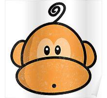 Young rebel monkey II vintage Poster