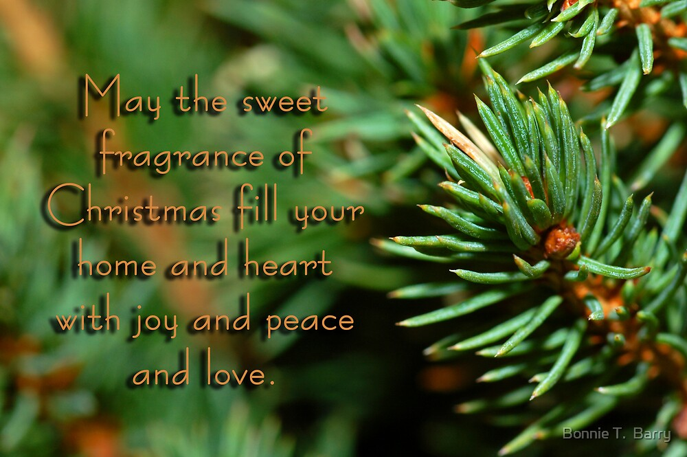 Fragrance of Christmas by Bonnie T.  Barry
