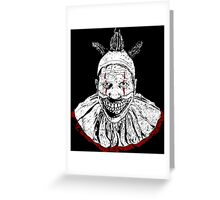 Twist Noir Greeting Card