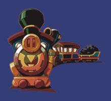 Zelda Spirit Tracks T-shirt by Sarah Ramsden