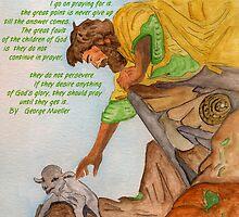 Jesus and Prayer by Anne Gitto