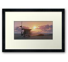 GTA V SULTAN BEACH  Framed Print