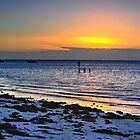 Cervantes beach sunset by BigAndRed
