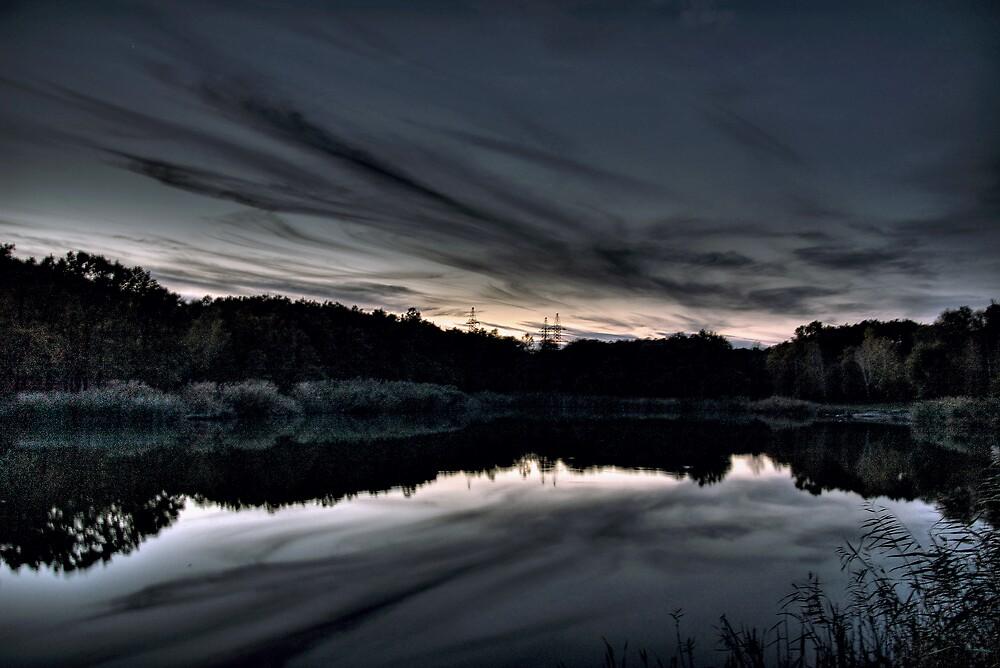 The Sunset by John Roshka