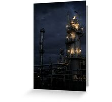Oil: Refined Greeting Card