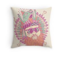 All American Action Bronson  Throw Pillow