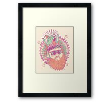All American Action Bronson  Framed Print