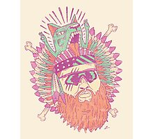 All American Action Bronson  Photographic Print