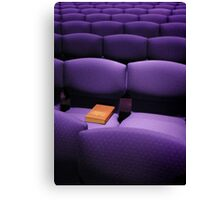 The Hymnal Canvas Print