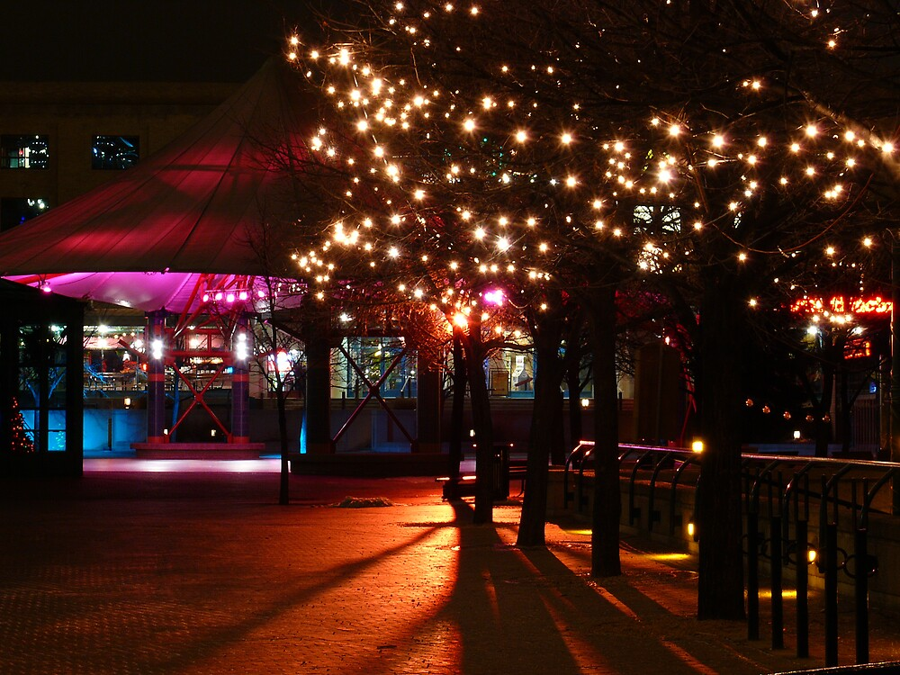 Nightime at the Forks by Geoffrey
