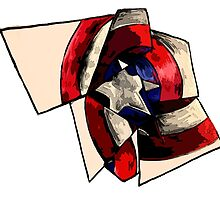 Captain America - Shattered Shield by Colin Bradley