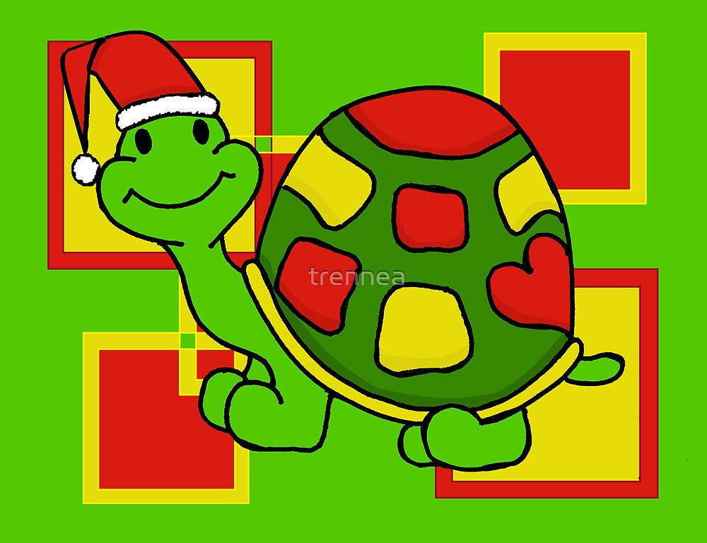 Pop Turtle Goes Holiday by trennea